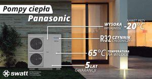 Pompy ciepła Panasonic - korzystna oferta hurtowni SWATT